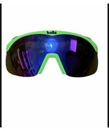 Vintage BOLLE Sport 90's Neon Green Cycling Frames - CLOUDY LENSES - $45.00