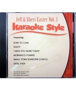Jeff & Sheri Easter Volume 3 Karaoke Style NEW CD+G Daywind 6 Songs - $15.76