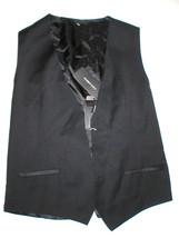New NWT Mens 38 Vest Designer Italy Dolce & Gabbana Wool Silk Black 48 Nice - $445.00