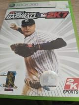 MicroSoft XBox 360 Major League Baseball 2K7 image 1