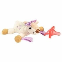 Dr. Brown's Baby Lovey Pacifier and Teether Holder, Soft Plush Stuffed...  - $12.91