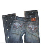 New Girls Jeans 14 $120 NWT Boot Cut Leg 27 X 31.5  Antik Denim Designer... - $38.70