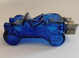 Avon Dune Buggy 5 fl oz Sports Rally Bracing Lotion Empty Blue Glass Vin... - $17.82