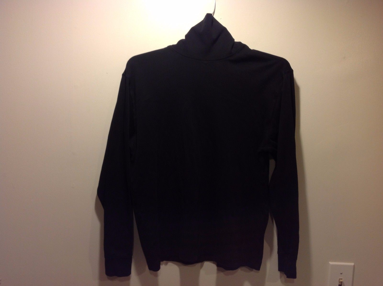 Ladies Black Turtleneck Sweater by St. John's Bay Sz M