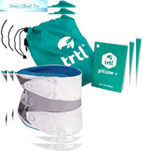 trtl Pillow Plus, Travel - Fully Adjustable Neck for Blue  - $80.32