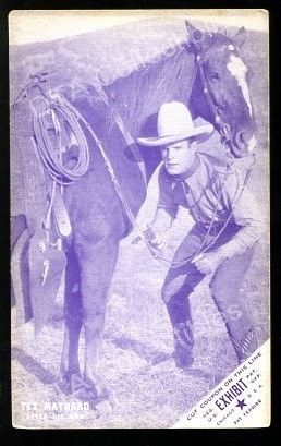 Primary image for TEX MAYNARD-ARCADE CARD-1920 FR/G