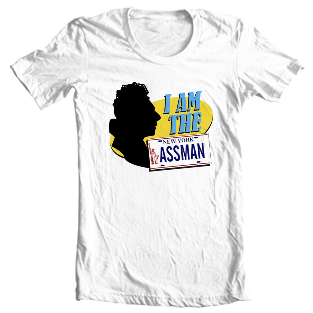 The Ass Man t-shirt Seinfeld Cosmo Kramer retro nostalgic tv show graphic tee