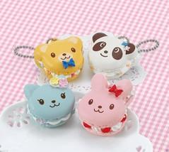 """Japanese DIY Whipple """"Animal Macaroon Set"""" Fake Sweets Key Chain Making Kit - $30.30"""