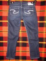 Silver Jeans Size 26 Frances Capri Women's Low Rise Thick Stitch Croppe... - $23.74