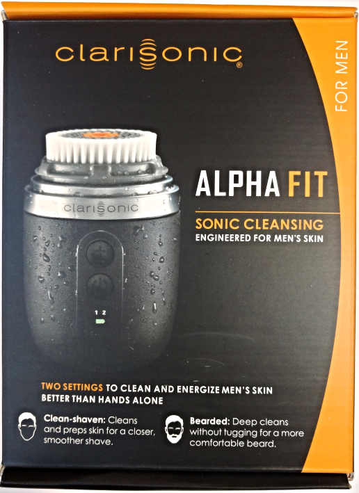 Clarisonic Alpha FIT Men's Facial Cleansing Brush New Retail Package for sale  USA