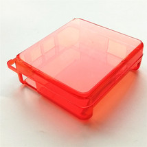 Clear Red Hard Case Cover Protector For Nintendo Game Boy Advance SP GBA... - $8.01