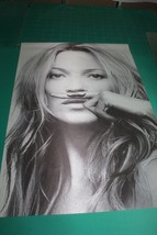 "New Hot Super Sexy Model KATE MOSS Life Is A Joke Silk Fabric Poster 24X36"" - $15.83"