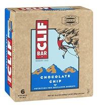 Clif Bar Energy Bars Chocolate Chip - $9.89