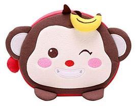PANDA SUPERSTORE Cute Shoulder Bag Children' s Backpack Cotton Backpack Bag Mess