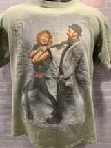 Sugarland The Incredible Machine 2011 Tour Konzert T-Shirt GRÖSSE M - $10.39