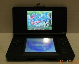 Nintendo DS Lite Black Handheld Video Game Console - $60.78