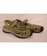 Keen Womens Rose Sandal Olive Green Adjustable Strap Water Sport Hiking - $53.46
