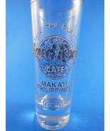 "Rare Hard Rock Cafe Makati Philippines 4""  Blue Marble Logo Save The Planet - $10.39"