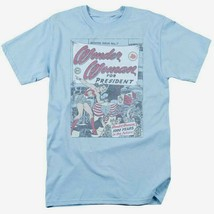 Wonder Woman for President T-shirt retro DC comic book Superman superhero DCO657 image 2