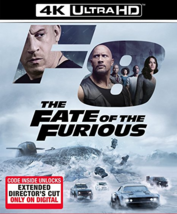 The Fate of the Furious (4K Ultra HD + Blu-ray, 2017)