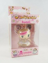(1) Tokidoki DONUTELLA & Her Sweet Friends Pink Brown Collectible Keycha... - $18.99
