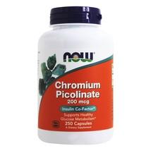 NOW Foods Chromium Picolinate 200 mcg., 250 Capsules - $13.45
