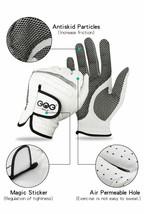 Men Golf Gloves Left Right Hands Soft Breathable Pure Sheepskins Genuine... - $12.31
