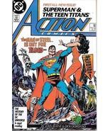 Action Comics Comic Book #584 DC Comics 1987 VERY FINE- UNREAD - $3.75