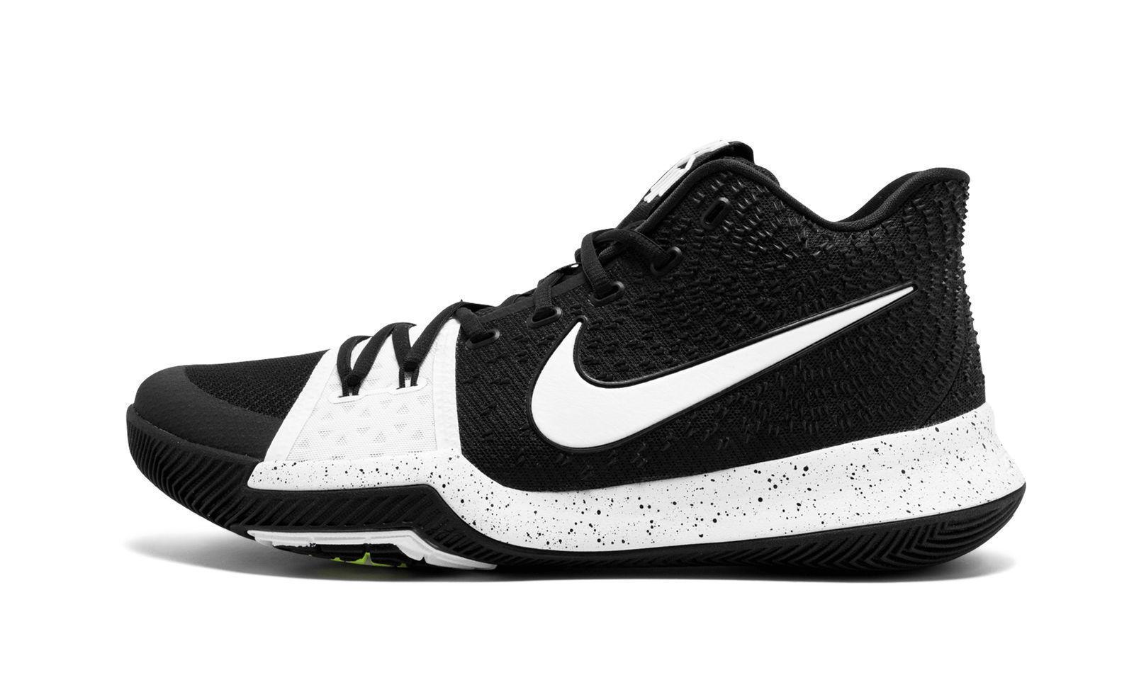 new style 88633 2e9e1 Kyrie 3 Tb Basketball Shoes BLACK WHITE Men and 50 similar items