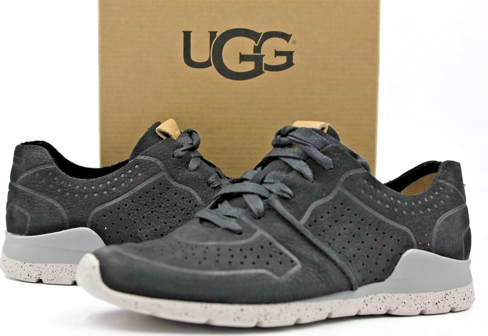 Ugg  Australia Tye Sneakers Tennis Black Women's Casual Shoes Size 6