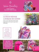 Vera Bradley Quilted Signature Cotton Lunch Bunch Bag, Houndstooth Tweed image 4