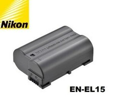 New Genuine OEM Nikon D600 D610 D750 D7100 D7200 D800 D810 V1 EN-EL15 Ba... - $64.66