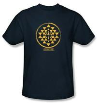 Classic Battlestar Galactica Viper Squadron Gold Shoulder Patch T-Shirt ... - $19.99