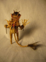 Vintage Inspired Spun Cotton Christmas Krampus Antique Looking no. CH6 A image 2