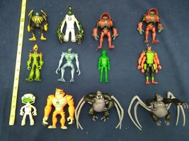 Lot Of Bandai Ben 10 Ultimate Action Figures Spider Monkey Hydroblast lo... - $29.69