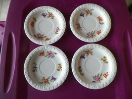 Rosenthal Flowers saucer 12 available - $4.75