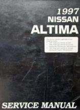 1997 Nissan Altima Servizio Negozio Officina Riparazione Manuale OEM - $77.20