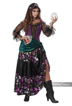 Californie Déguisements Mystical Charmer Gypsy Chance Adulte Halloween C... - $47.23