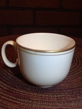 Royal Doulton  Flat Cup - White w/Double Gold Rim - Concord? - $8.85