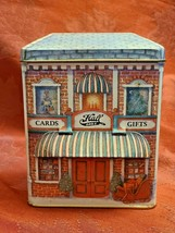 Hallmark Nostalgic Houses Hall Bro's Cards and Gifts Tin shop cards collection  image 1