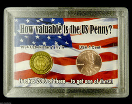 "World's Most Worthless Coin & 2013 Lincoln Cent  ""How Valuable is the US... - $8.95"