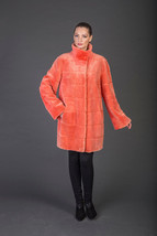 Luxury gift/Orange Beaver Fur Coat/Fur jacket /Wedding,or anniversary pr... - $1,250.00