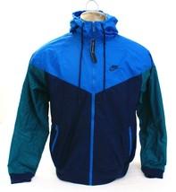 Nike Sportswear Multi-Color Windrunner Zip Front Hooded Jacket Men's NWT - $75.74