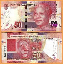 ND 10 rand Rhino P-133 South Africa 2012 UNC /> Mandela