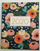 Pretty Simple Weekly and Monthly Planner 2020 NEW Floral Flowers - $9.99