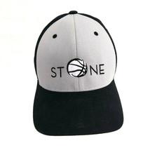 Stone Black and Grey Flexfit Richardson Pro 185 L/XL Baseball Cap Trucke... - $12.82