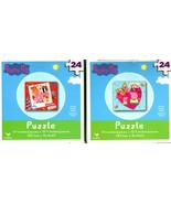 Peppa Pig -  24 Pieces Jigsaw Puzzle - (Set of 2) - $14.84