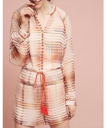 Anthropologie Grid Graphic Romper by Adelyn Rae $158 - NWT - $55.24