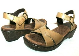 ❤️ BORN Mexico Layanne Full-Grain Clog Platform Sandals 6 M EXCELLENT! L@@K!b - $27.54