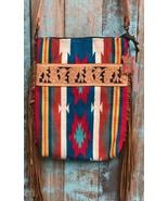 American Darling Canyon Serape Saddle Blanket Tote w/Fringe - $114.99